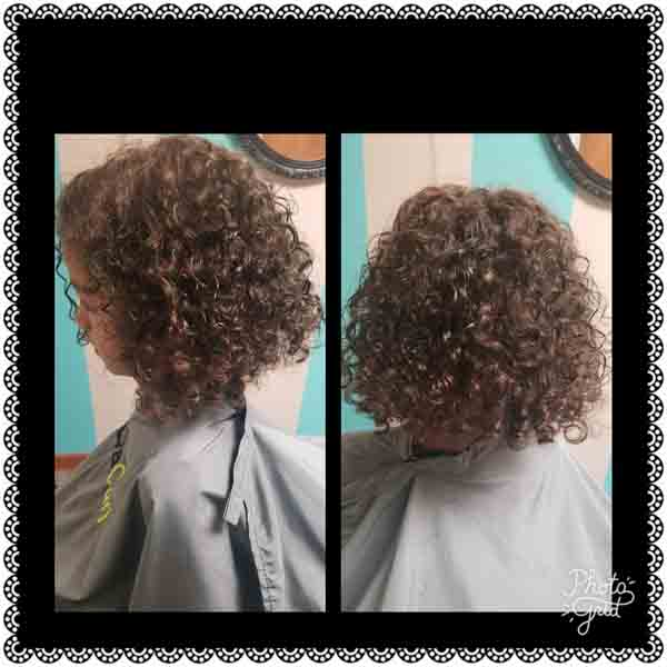 happy curls